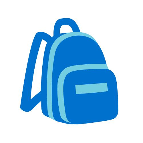 Koulureppua kuvaava ikoni.