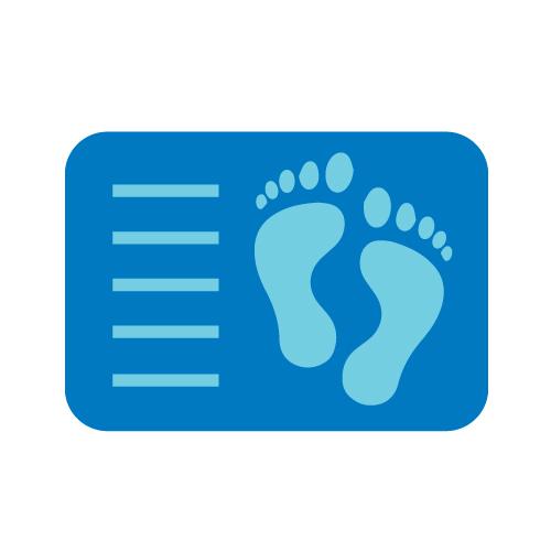 Syntymätodistusta kuvaava ikoni.