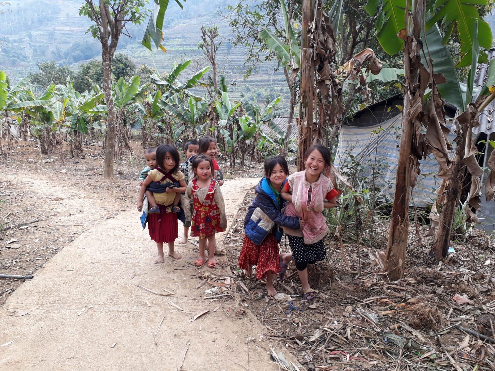 Lapsia Vietnamissa