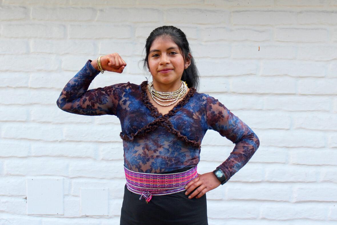Ecuadorilainen 18-vuotias Yadira on yhteisönsä aktiivinen jäsen ja tasa-arvon puolustaja